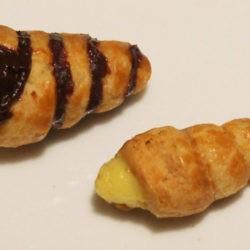 13. Corrado, Cannoli con crema pasticcera (ai lamponi) e con ganache
