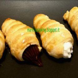 2. Mariella, cannoli con ganache ai marroni e con crema ricotta e pere