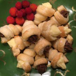 64. Fabio C, Cannoli con crema pasticcera e crema al cacao e ginger