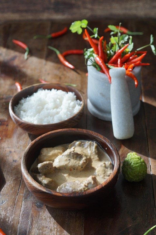 Panang curry thai