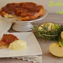 5. tarte tain di mele affumicate e rosmarino con gelato alla vaniglia di Elena B