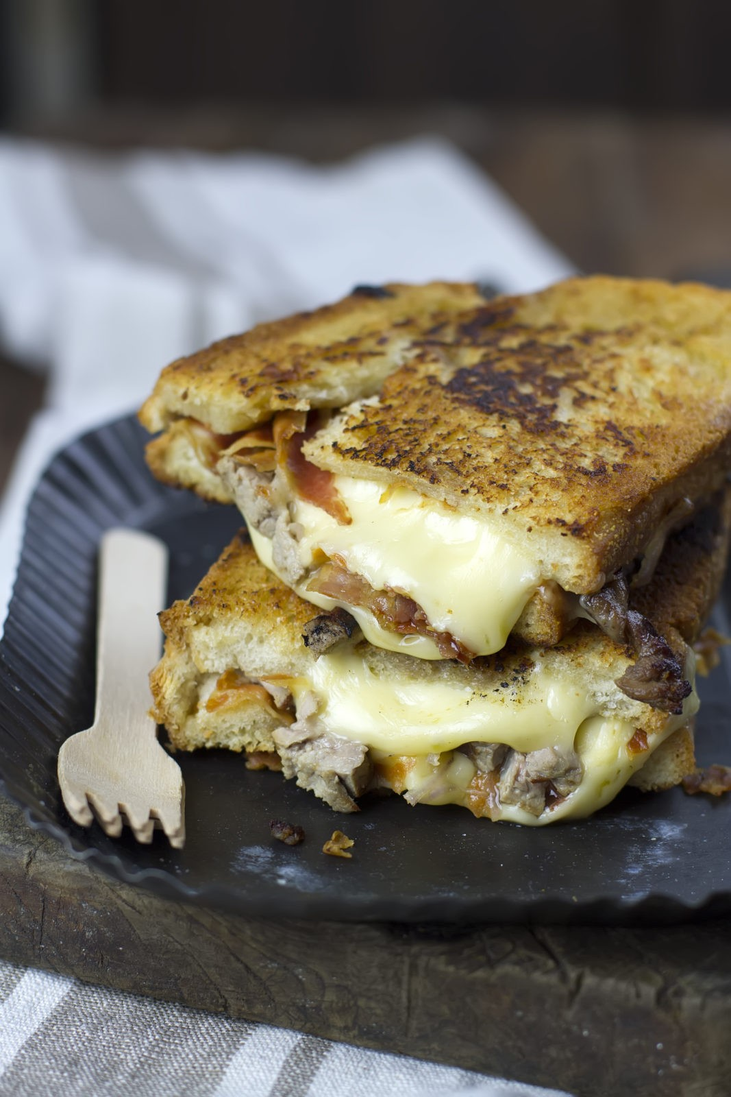 chopped steak grilled cheese 3