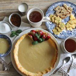 3. crostata alla composta di mele e tris di biscottini di Giusy