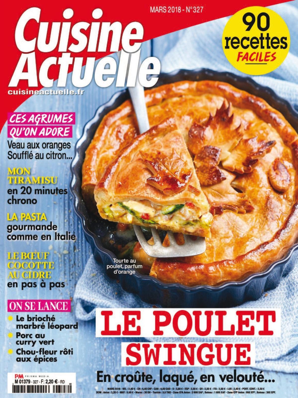 Cuisine Actuelle No. 327 - Mars 2018