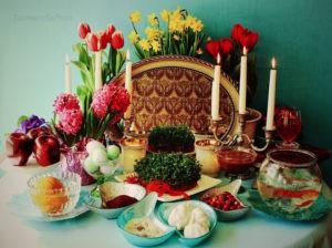 Nowruz-HaftSeen Table