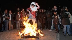 APTOPIX Mideast Iran New Year Fire Festival