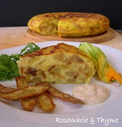 117. tortilla con bucce fritte e salsa di tonno di Rosemarie