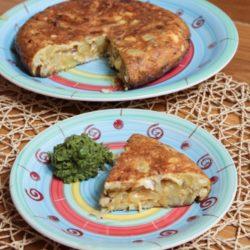 32. fish and tortilla con purè di piselli alla menta di Valeria