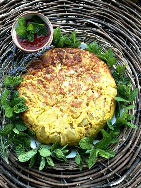 36. tortilla con salsa agrodolce di Katia
