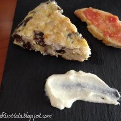 49. tortilla di butifarra negra e fagioli risottati di Vera