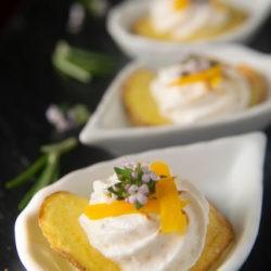 55. la tortilla si è montata la testa... patate. meringa e uovo marinato di Angela