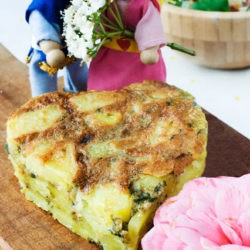 56. tortilla di patata alle ortiche di Chiara P.