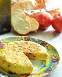 95. tortilla con pa amb tomaquet di Silvia