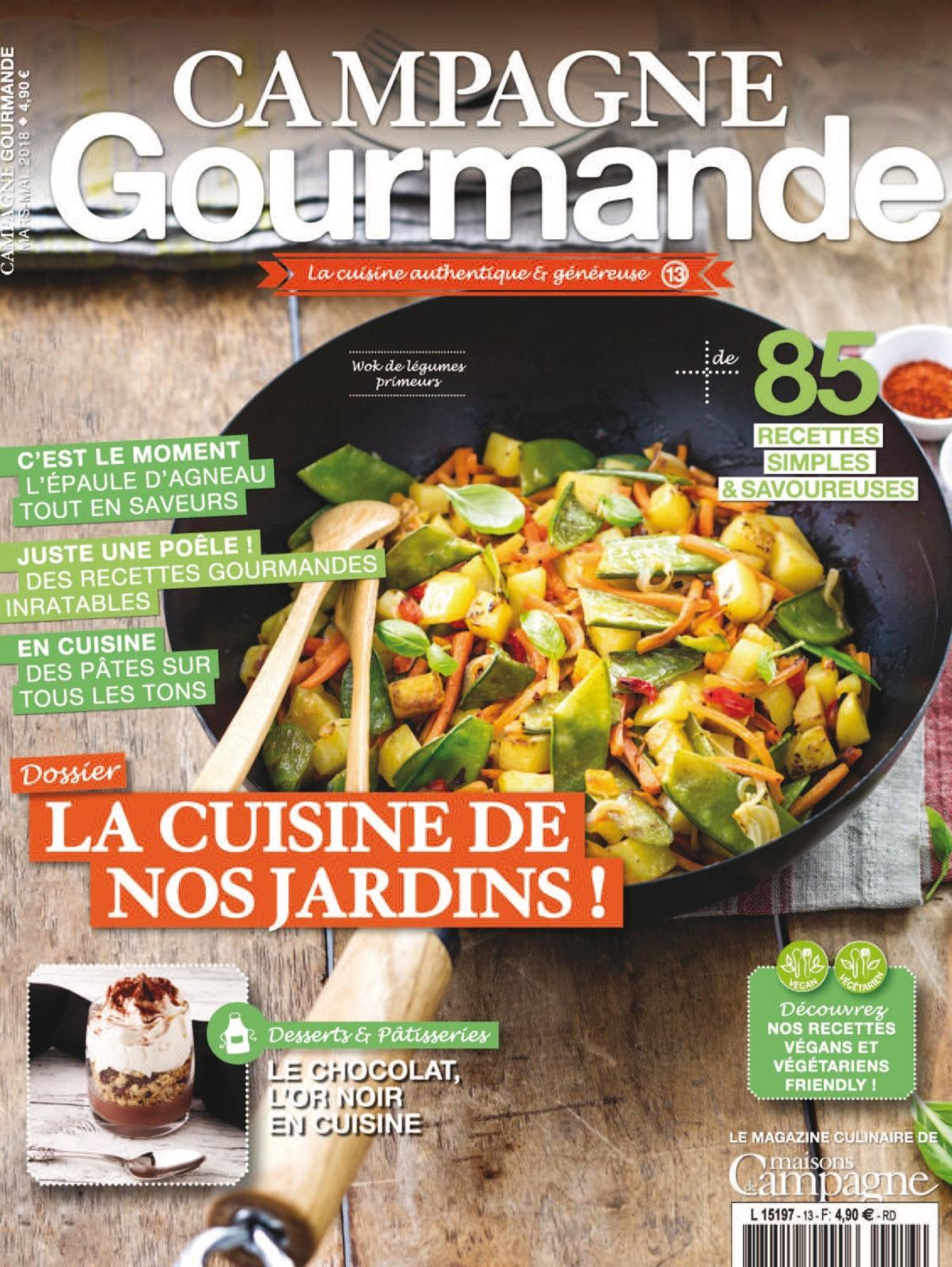 Campagne Gourmande No. 13 - Mars/Avril/Mai 2018