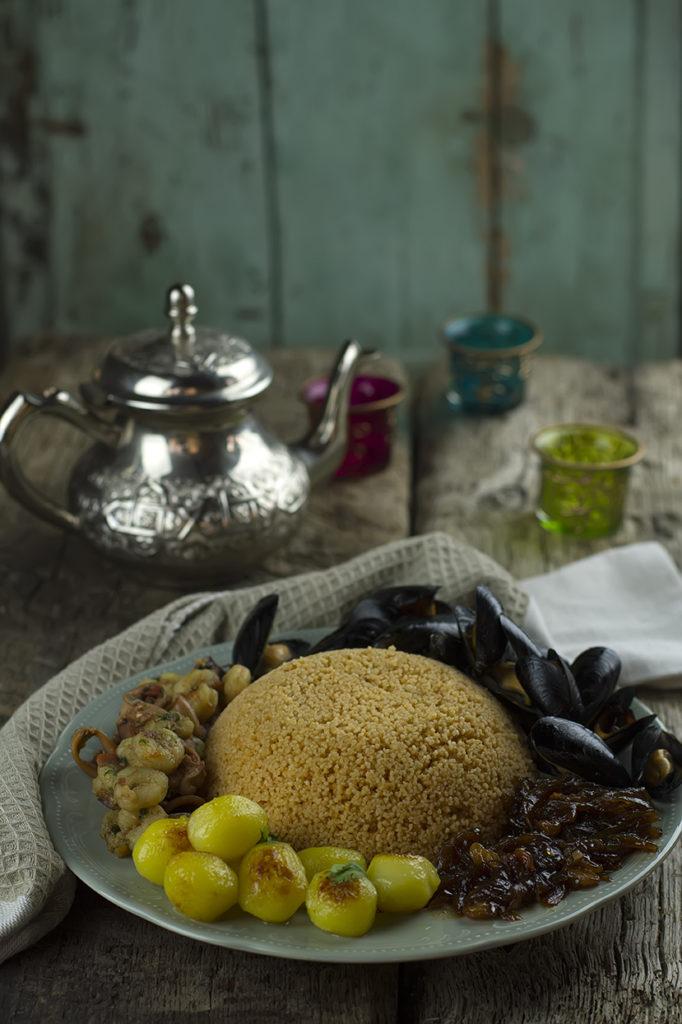 couscous di mare zafferano