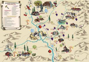 melnik_wine-_routes_map_2017_front cucina bulgara