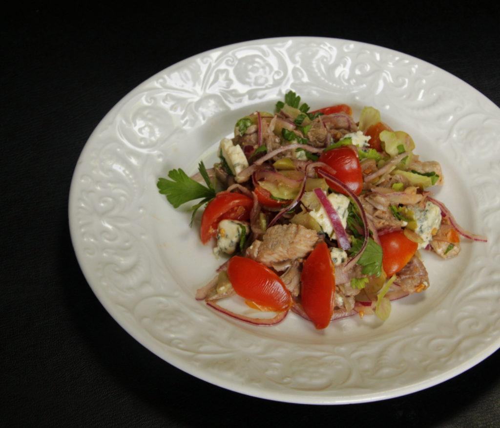 Bloody Mary Steak salad (3)