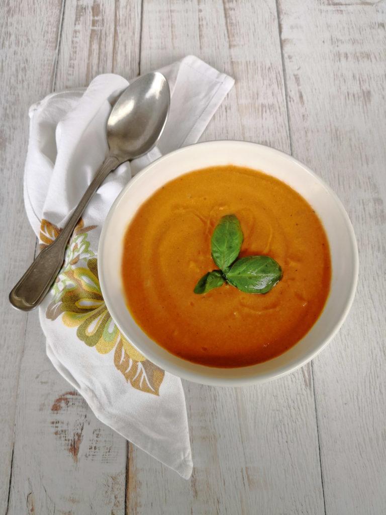 zuppa peperoni al latticello