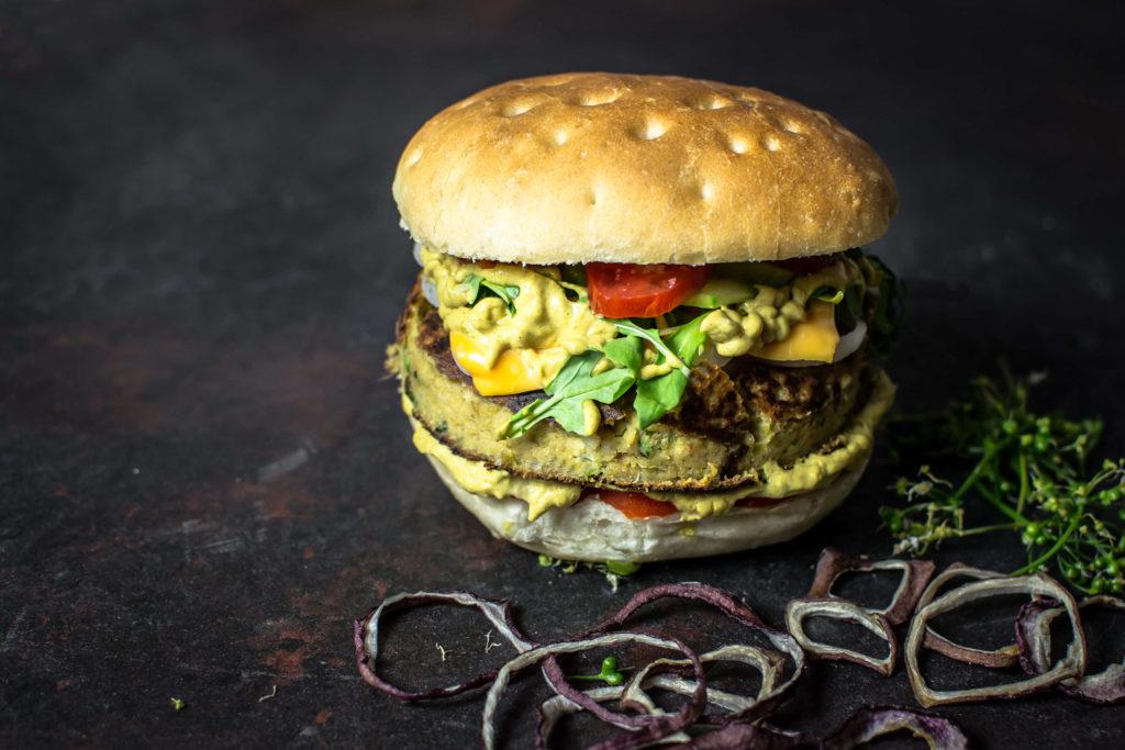 hamburger ceci e tahini