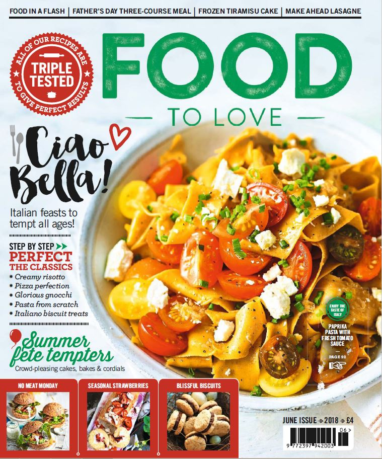 cover food to love