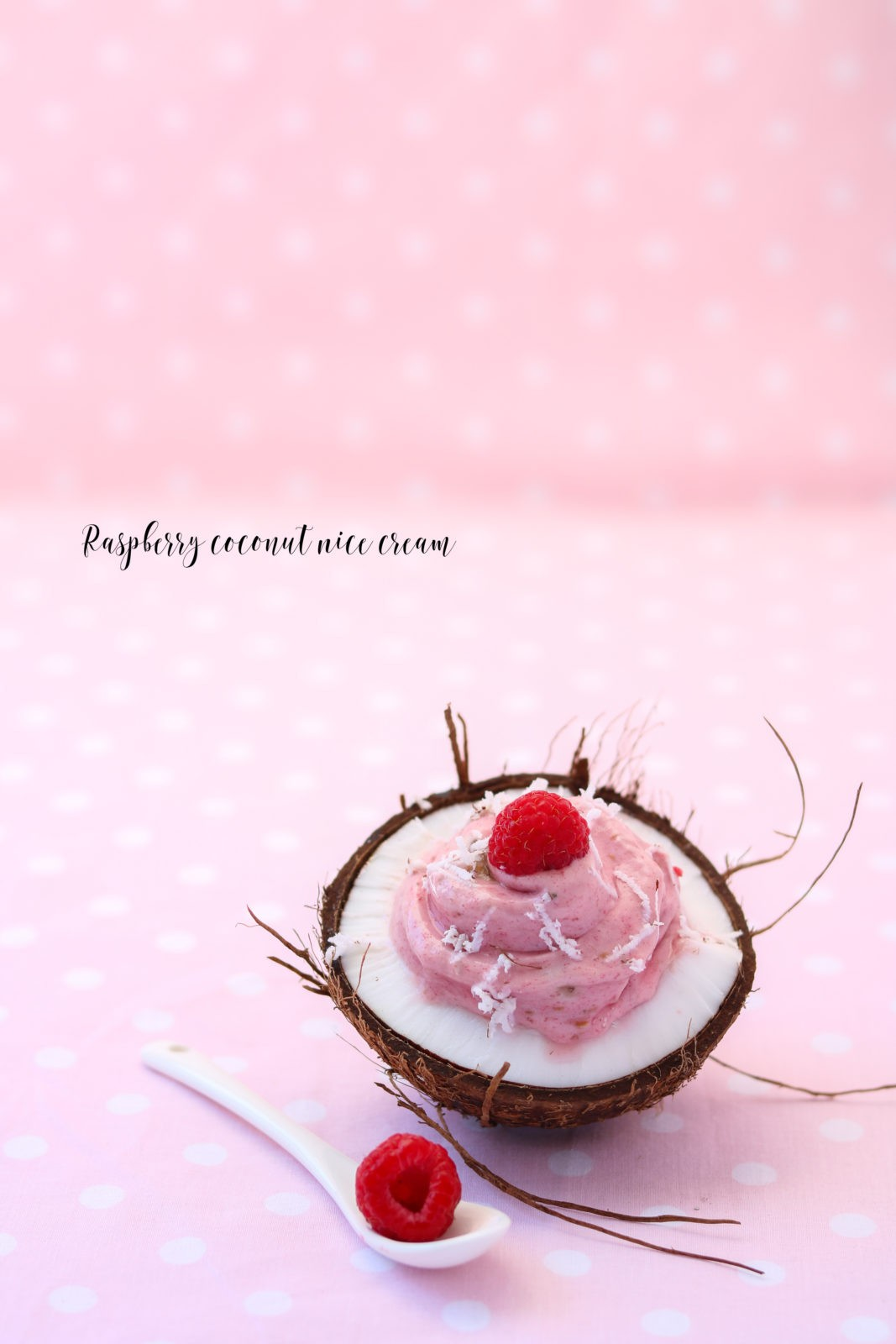 raspberrycoconutnicecream