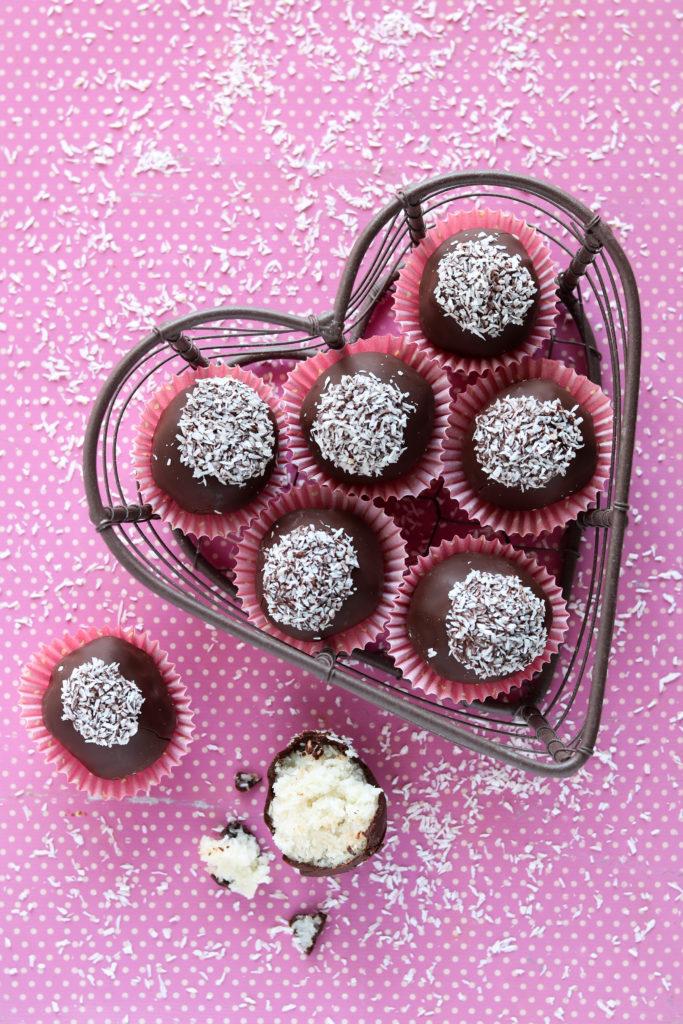 pillole energetiche cocco cioccolato