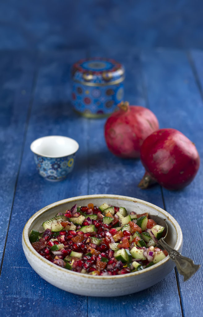 shirazi salad melagrana