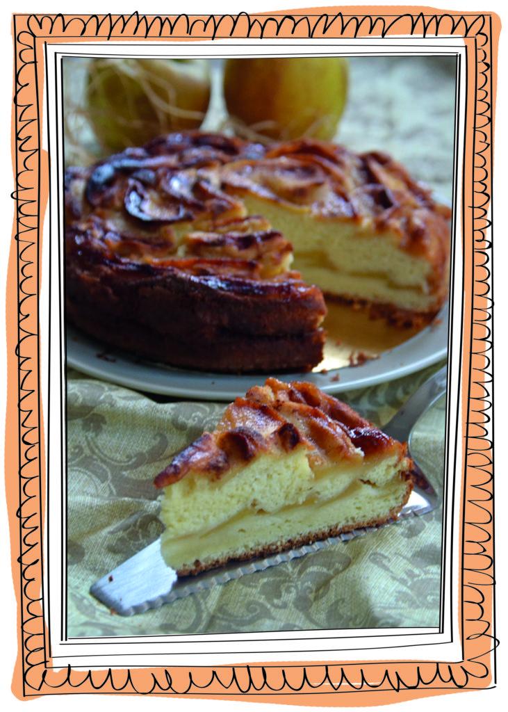 torta di mele Claudia Roden