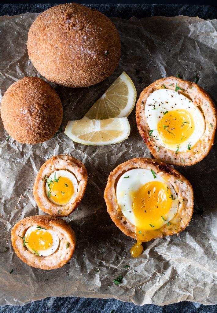 scotch eggs uova