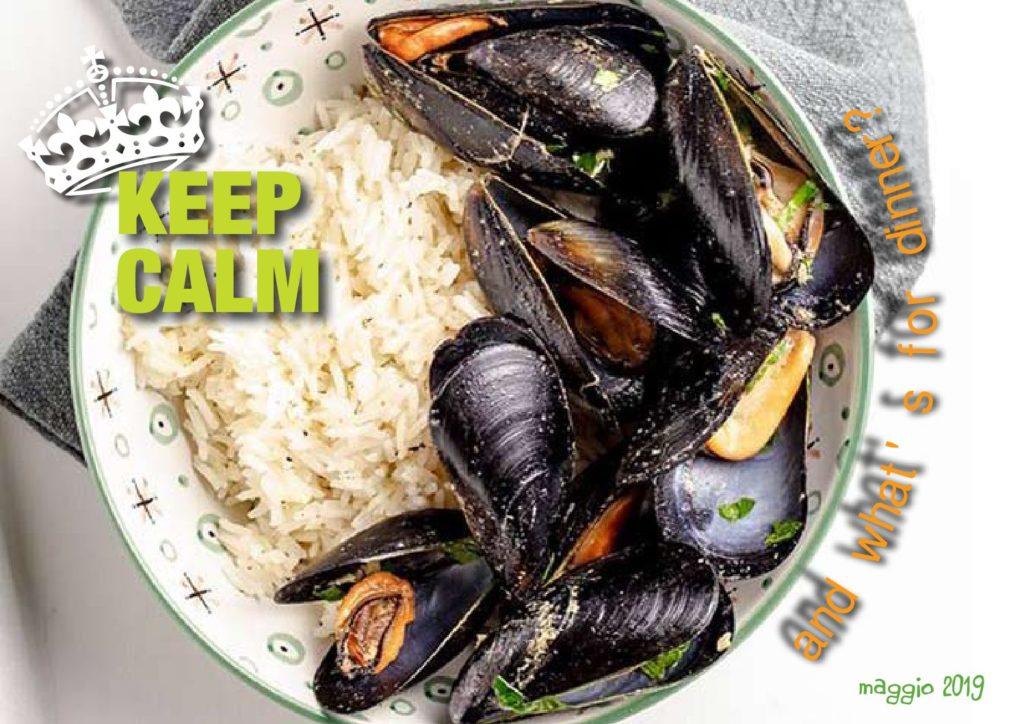 KEEP CALM and ... tutte le ricette di maggio!