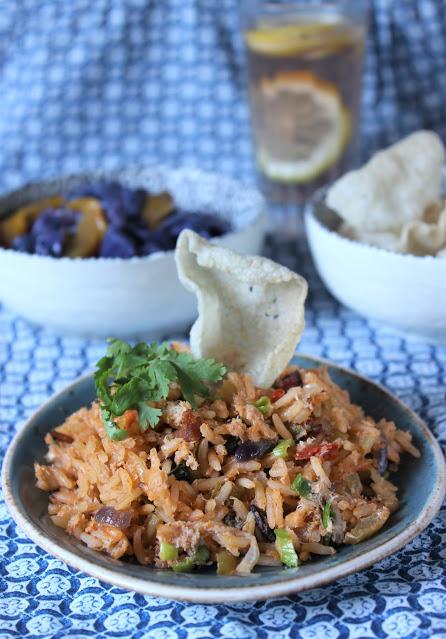 46. Annalena, crab red rice, cavolo blu e nuvole