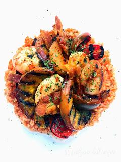 52. Leila, red rice salad