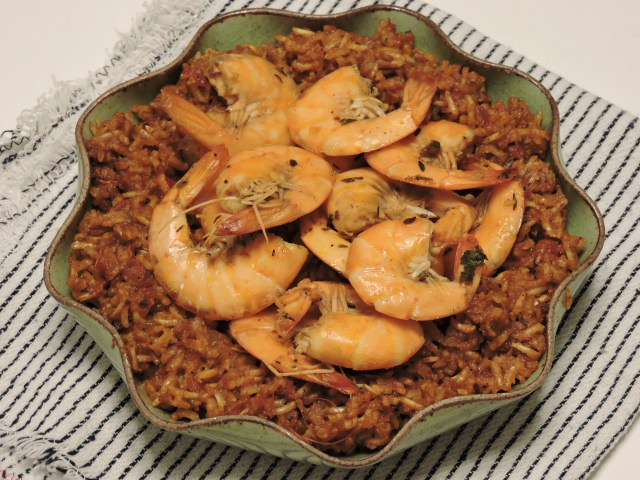 57. Mapi, red rice ai gamberoni
